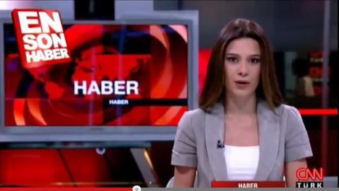 Βίντεο: Ο σεισμός των 6,3 Ρίχτερ όπως τον έζησε παρουσιάστρια του CNN Turk