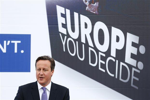 Ντ. Κάμερον: Η νίκη του UKIP οφείλεται στην απογοήτευση από την ΕΕ