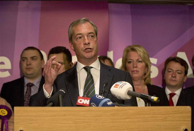 Θα επιδιώξει την «βρετανική έξοδο» ο Νάιτζελ Φάρατζ