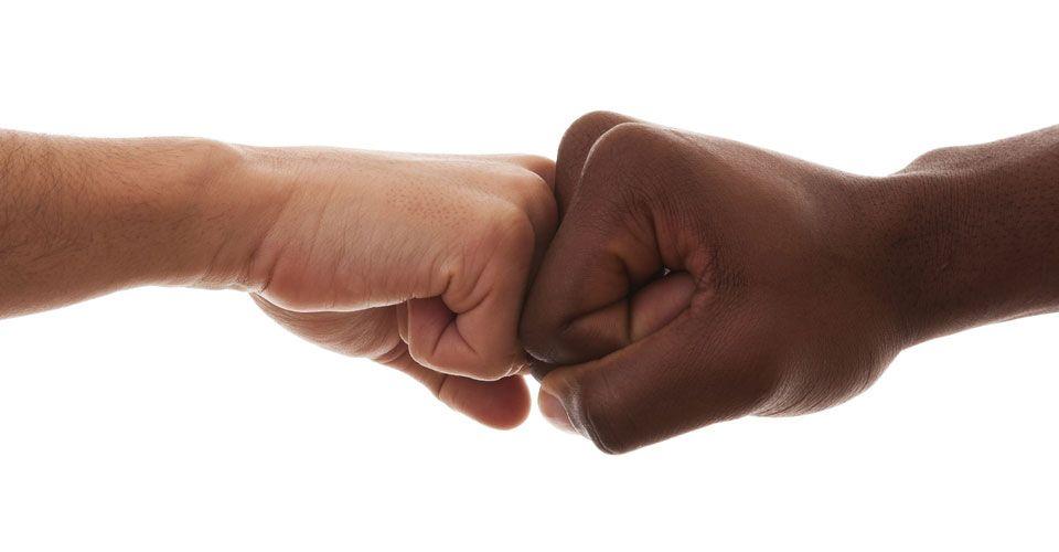 Μήνυμα κατά του ρατσισμού