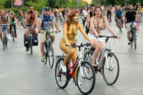 Γυμνή Ποδηλατοδρομία τον Ιούνιο στη Θεσσαλονίκη