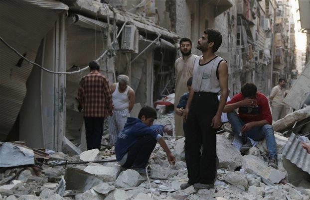 Συρία: Δεκάδες νεκροί από βαρέλια-βόμβες του καθεστώτος Άσαντ