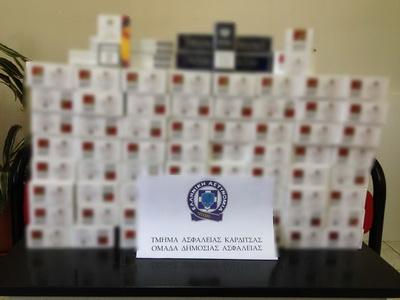 Διανομή μέσω ΚΤΕΛ λαθραίων πακέτων τσιγάρων