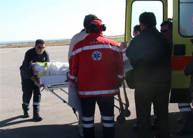 Δύο έγκυες και ένα βρέφος έφτασαν με C-130 σε Αθήνα-Θεσσαλονίκη