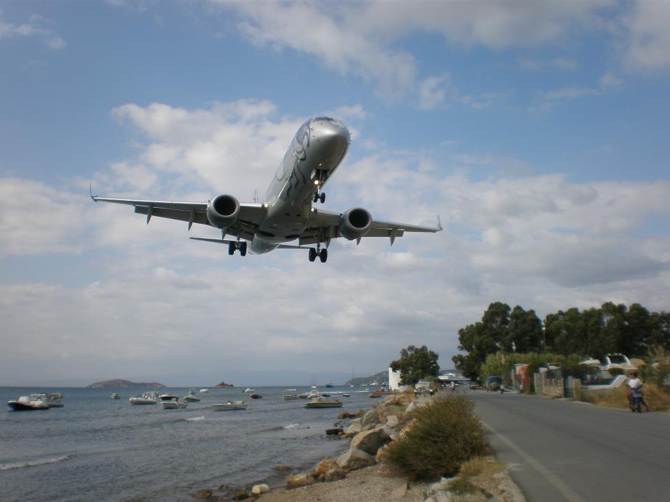Αύξηση στις αεροπορικές αφίξεις με προορισμό τη Σκιάθο