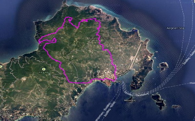 Τρίτος ημιμαραθώνιος αγώνας ορεινού τρεξίματος στη Σκιάθο
