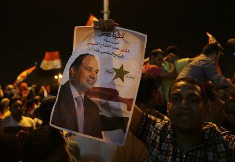 Συντριπτική νίκη του στρατάρχη η Αλ-Σίσι ανακοινώνει η Αίγυπτος