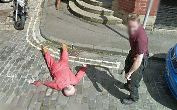 Αναστάτωση από δολοφονία-φάρσα στο Google Street View