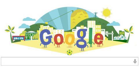Με βραζιλιάνικο ήλιο και χορό η Google τιμά το Μουντιάλ
