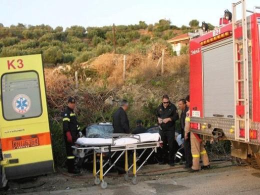 Τροχαίο με σοβαρό τραυματισμό στη Λάρισα