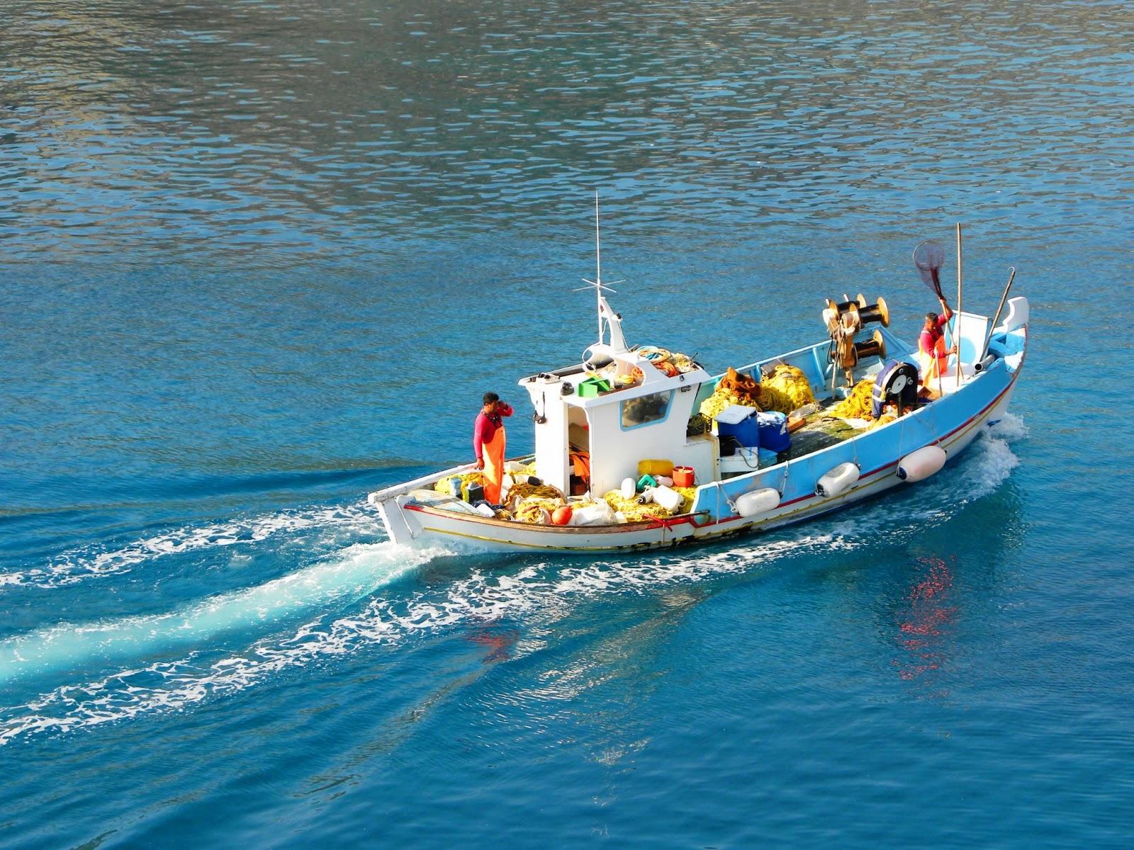 Αισθητή η μείωση των αλιευμάτων