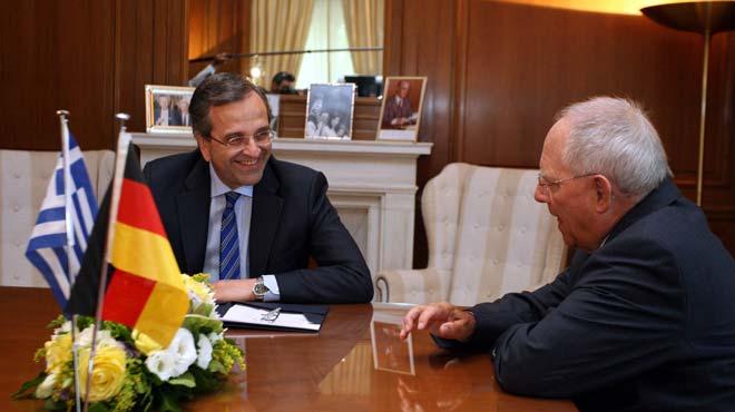 Συνάντηση Σαμαρά-Σόιμπλε στην Πορτογαλία