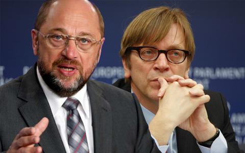Σουλτς και Φέρχοφστατ πρόεδροι των κοινοβουλευτικών τους ομάδων στο Ευρωκοινοβούλιο