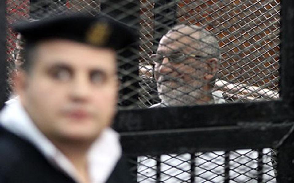 Αίγυπτος: Νέα θανατική καταδίκη για τον ηγέτη της Μουσουλμανικής Αδελφότητας
