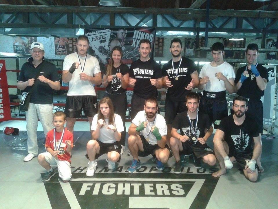 Επτά μετάλλια για τους Fighters Βόλου σε αγώνες της Αθήνας