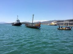 Στο λιμάνι του Βόλου και πάλι η Αργώ
