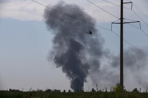 Φιλορώσοι αυτονομιστές κατέρριψαν ουκρανικό ελικόπτερο