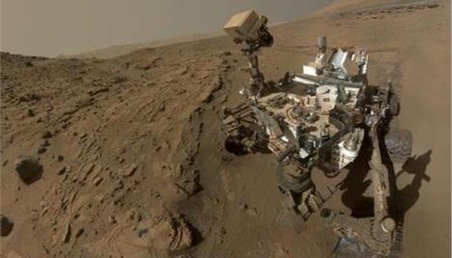 Ενα... αρειανό έτος στον Κόκκινο Πλανήτη γιόρτασε το Curiosity