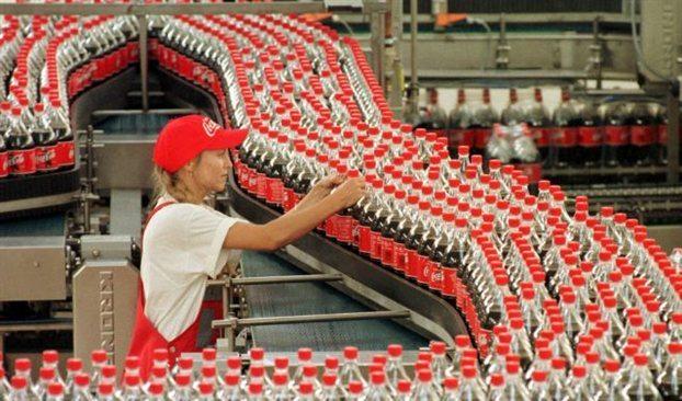 Συμπαράσταση στους εργαζόμενους της Coca - Cola