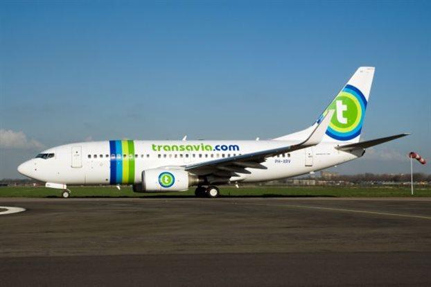 Ανάπτυξη 60% της αεροπορικής εταιρείας transavia στην Ελλάδα