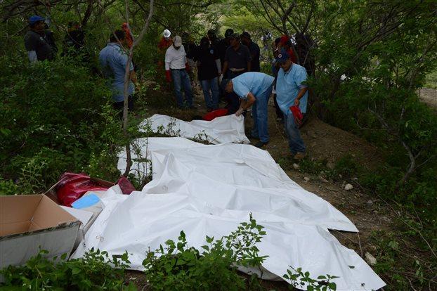 Ανώνυμος μαζικός τάφος με έντεκα πτώματα στο Μεξικό