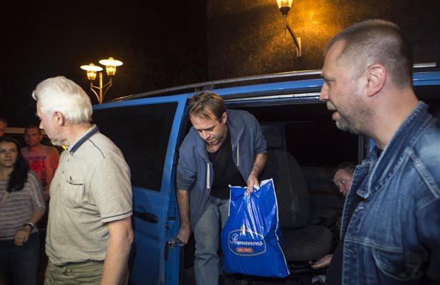 Ουκρανία: Τέσσερις παρατηρητές του ΟΑΣΕ απελευθέρωσαν οι φιλορώσοι