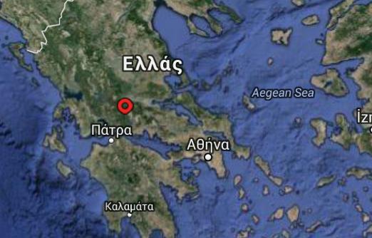 Σεισμός  3,9  Ρίχτερ στο Καρπενήσι
