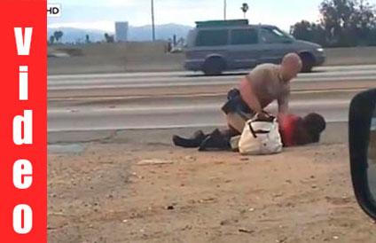 Λος Αντζελες: Αγριος ξυλοδαρμός γυναίκας από αστυνομικό