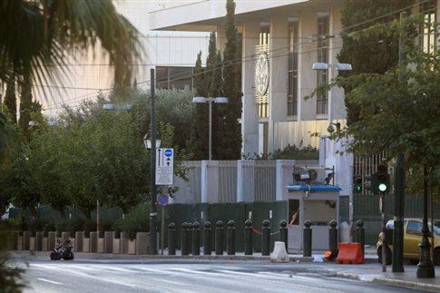 Πυρκαγιά σημειώθηκε σε υπόγειο της αμερικανικής πρεσβείας στην Αθήνα