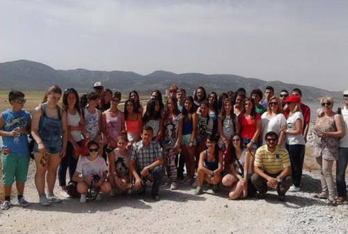 Εκπαιδευτική επίσκεψη μαθητών στον υγρότοπο της Κάρλας