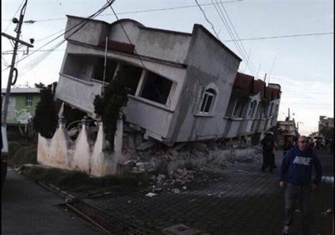 Τέσσερις νεκροί από τον σεισμό 6,9 βαθμών σε Μεξικό και Γουατεμάλα