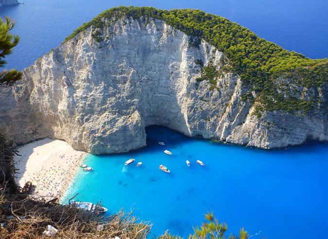 «Ναυάγιο, η ωραιότερη παραλία του κόσμου»