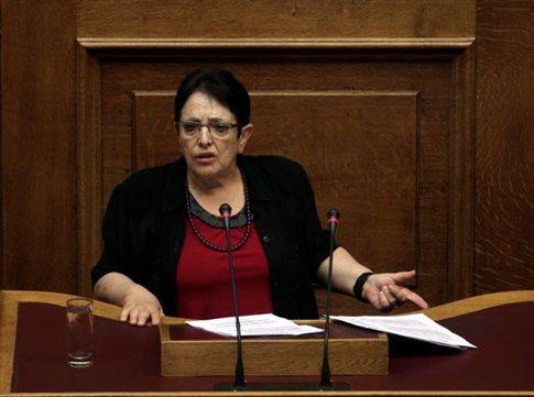 Το δημοψήφισμα του ΣΥΡΙΖΑ έχει νόθο ερώτημα, δήλωσε η Αλ.Παπαρήγα