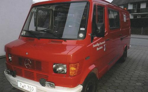 Πυροσβεστικό όχημα από τη Γερμανία
