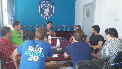 Συνάντηση Πάτση με Blue Angels