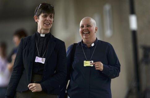«Πράσινο φως» στις γυναίκες επισκόπους από την Εκκλησία της Αγγλίας