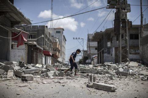 Διπλωματική κινητικότητα ενώ το αίμα να κυλά στη Γάζα