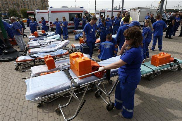 Μόσχα: Πέντε νεκροί και 80 τραυματίες από εκτροχιασμό συρμού στo μετρό