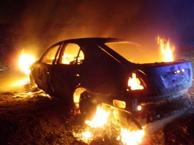Φωτιά σε αυτοκίνητο στη Σκόπελο