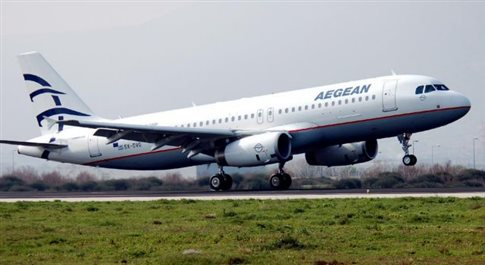 Ακύρωση πτήσης της Aegean από Τελ Αβίβ για Αθήνα