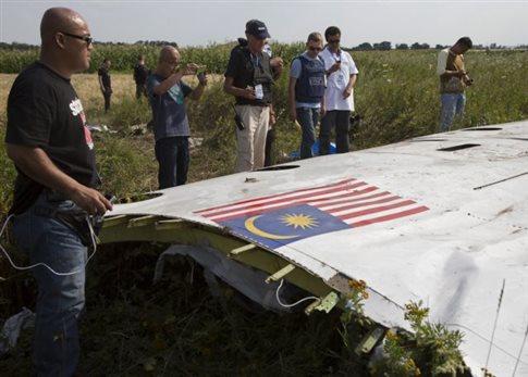 «Δεν υπάρχουν ενδείξεις αλλοίωσης» στο μαύρο κουτί της πτήσης MH17