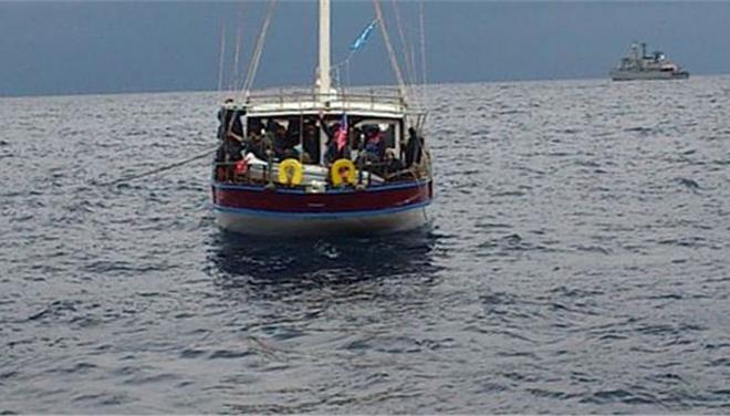 Επιχείρηση διάσωσης 65 παράνομων μεταναστών στην Κεφαλονιά