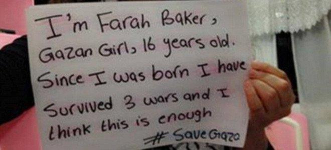 Η 16χρονη από την Παλαιστίνη που ήδη έχει ζήσει τρεις πολέμους τουιτάρει και φωνάζει ότι «είναι αρκετοί»