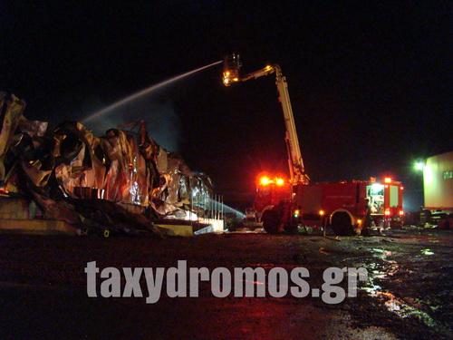 Μεγάλη πυρκαγιά σε εργοστάσιο ~ ΠΥΡΙΝΟΣ ΕΦΙΑΛΤΗΣ ΣΕ ΕΞΑΓΩΓΙΚΗ ΜΟΝΑΔΑ ΣΤΟ ΒΕΛΕΣΤΙΝΟ