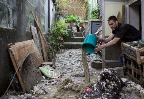 Ρουμανία: Δύο νεκροί και πλημμυρισμένα χωριά από τις βροχοπτώσεις