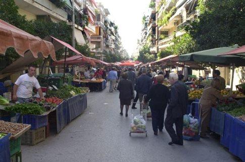 Συμφωνία για μείωση προστίμων στους πωλητές λαϊκών αγορών
