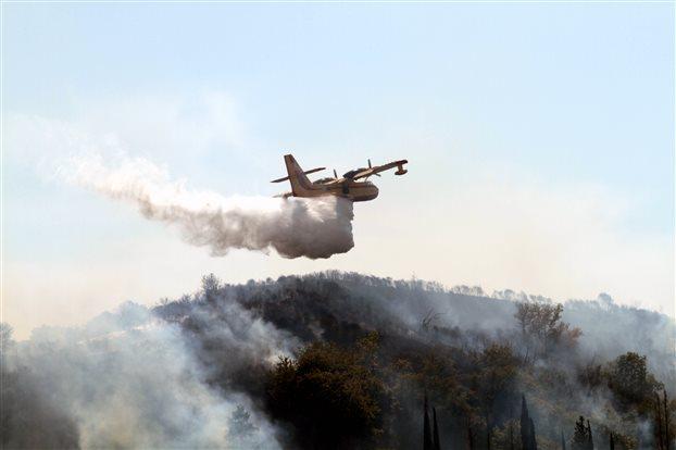 Πολύ μεγάλος κίνδυνος πυρκαγιάς την Πέμπτη