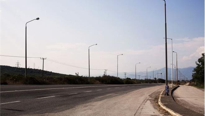 Αποκαταστάθηκαν οι ζημιές στην παλαιά Εθνική Οδό Κορίνθου - Πατρών