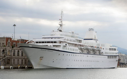 Επόμενο λιμάνι ο Βόλος για το εντυπωσιακό κρουαζιερόπλοιο «Aegean Odyssey»