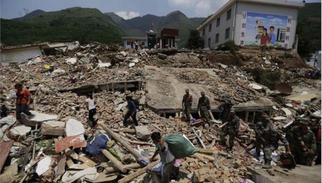 Κίνα: 589 οι νεκροί του σεισμού στην επαρχία Γιουνάν
